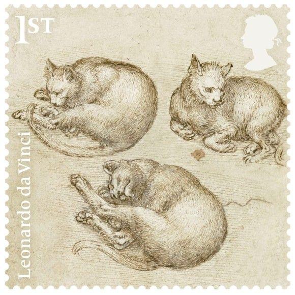 切手コレクションしてなくてもこれは欲しい!レオナルド・ダ・ヴィンチ 没後500年記念切手が販売中