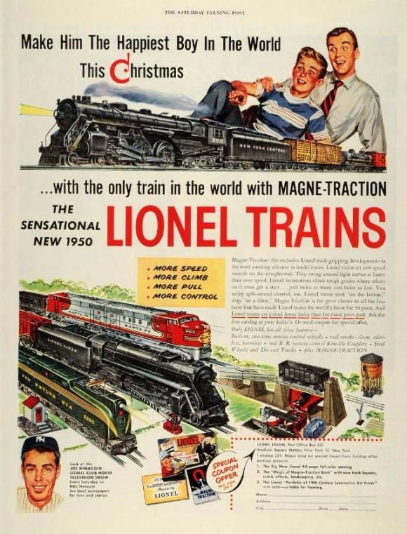 Lionel Train Set_e