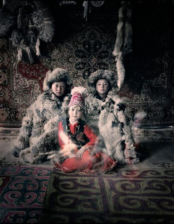 カザフ族 (モンゴル)の民族衣装