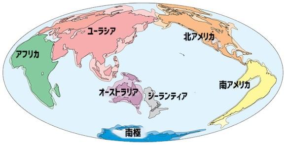 地球に存在した第8の大陸。海底に没したジーランティア