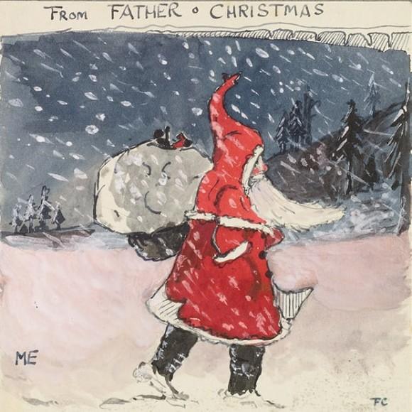『ホビットの冒険 の作家、J・R・R・トールキンはサンタクロースになりすまし、23年間我が子たちに手紙を描き続けていた