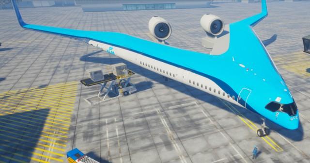 ギブソンのギター風、V字型次世代航空機「フライングV」の試作モデルがフライトテストに成功(オランダ)