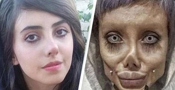 アンジェリーナ・ジョリーのゾンビに化けた女性に懲役10年の判決(イラン)