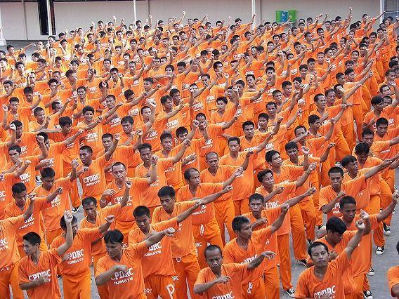 Philippine Prison Prisoners Dance Dancing 4