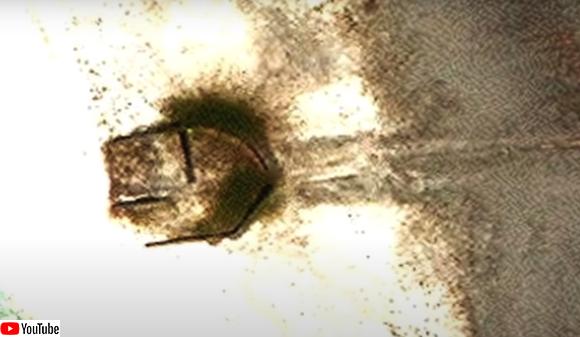 墜落したUFOなのか?無人島で盾のような形状の謎の物体がGoogleマップで発見される