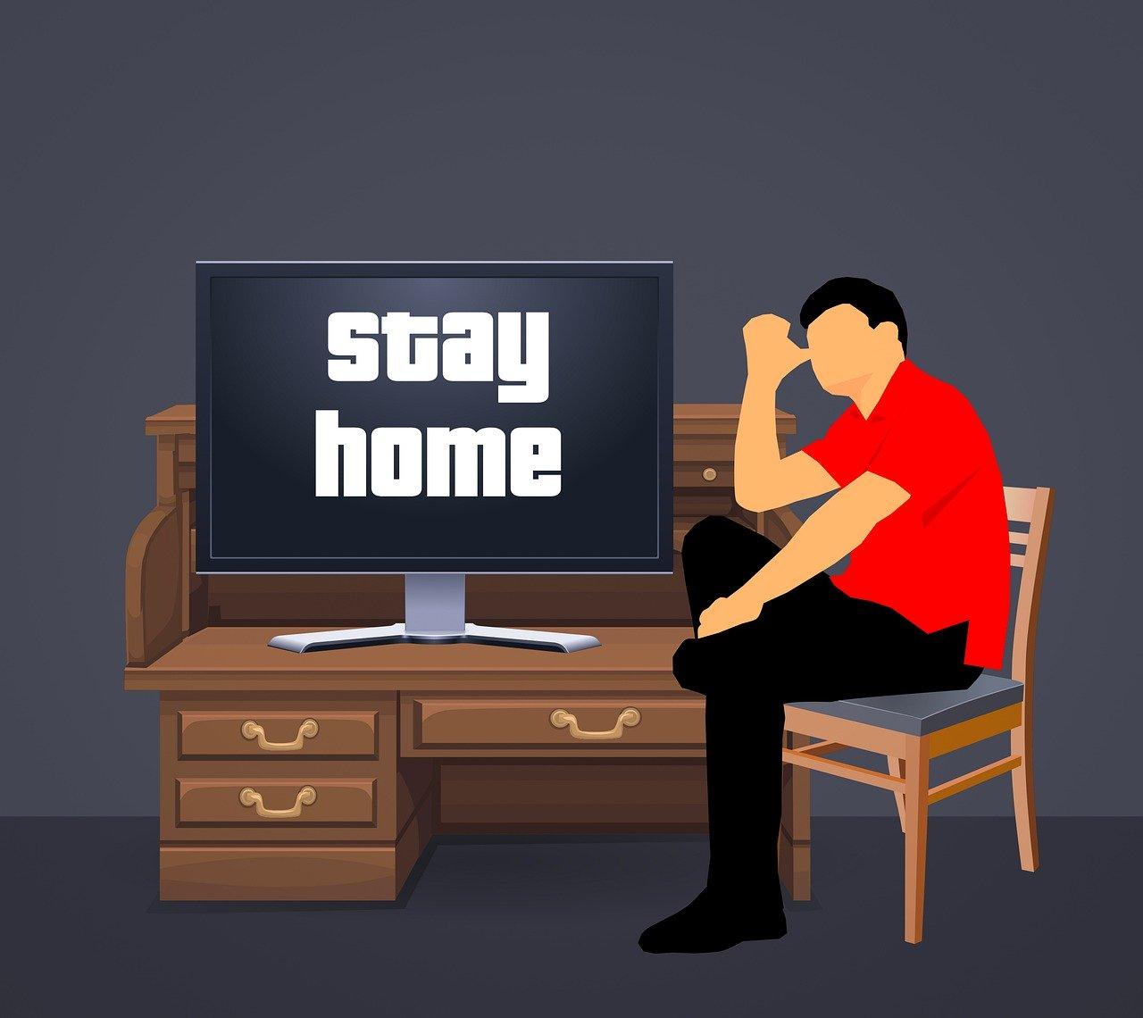 テレワークのストレスをコントロール