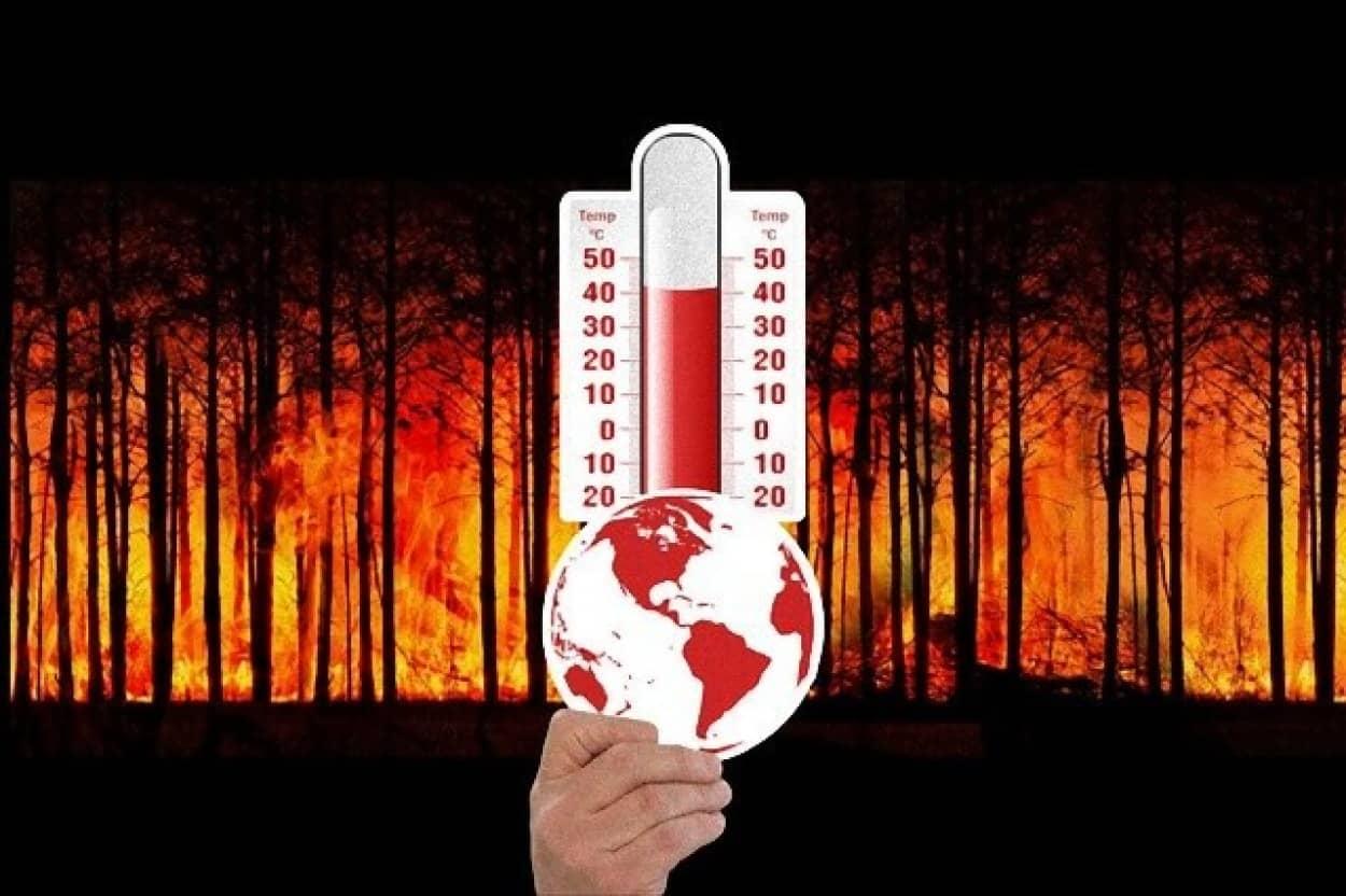 シベリアの一部地域で48度を記録