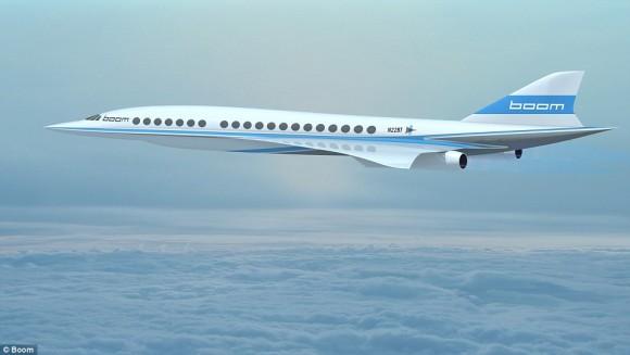 東京-サンフランシスコ間が4.7時間に。超音速ジェット旅客機「ブーム」の開発が始まった