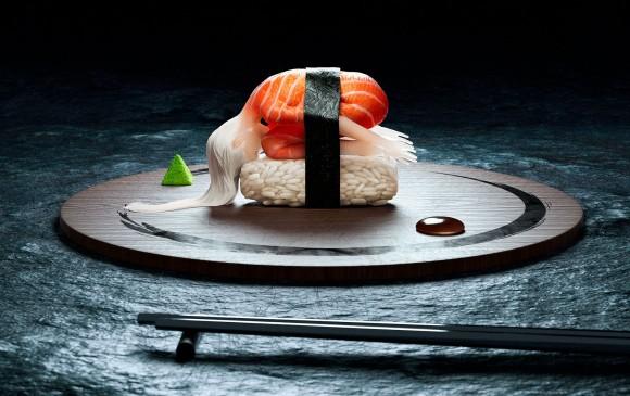 寿司の概念って!?フランス人による寿司と女性のシュールな融合「究極の生寿司」