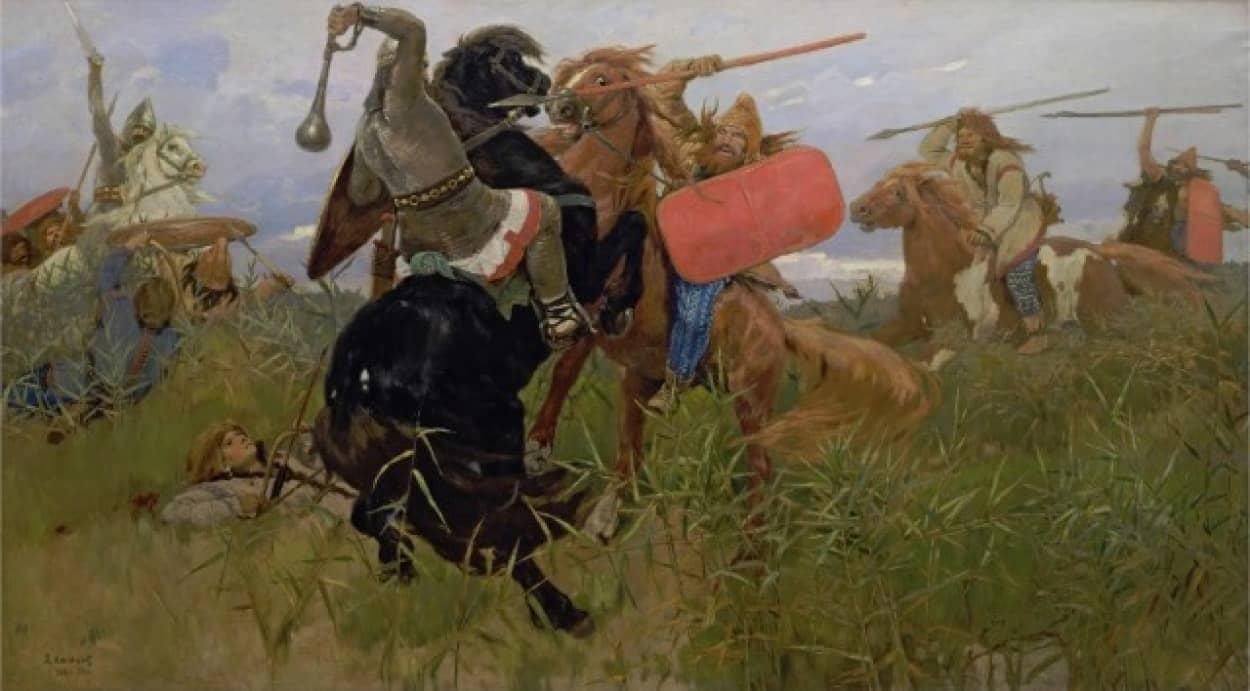 古代スキタイの戦士のクローンを作り復活させる構想