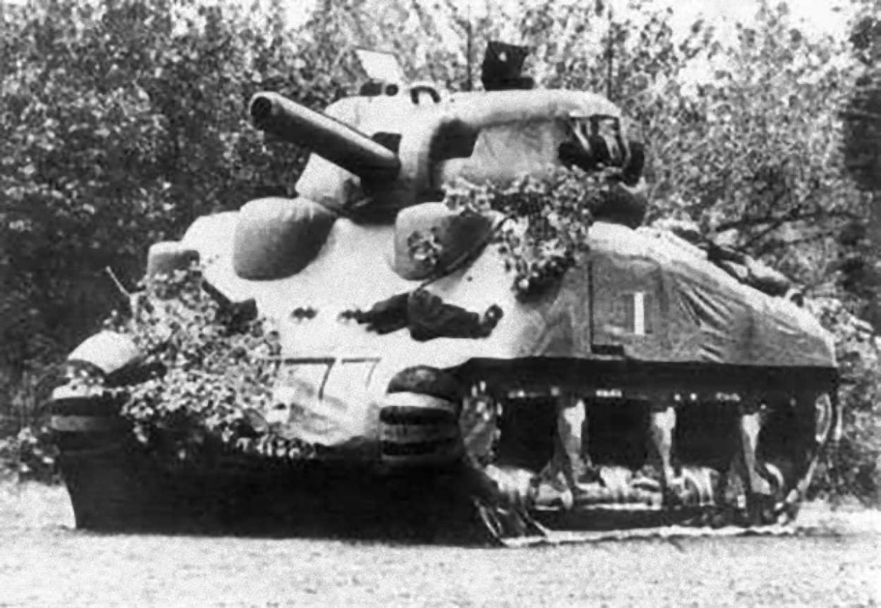 第二次世界大戦中の米軍のゴーストアーミー