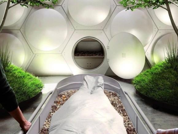人間の遺体を堆肥に変える世界初の施設が2021年にオープン予定、微生物で遺体を分解(アメリカ)
