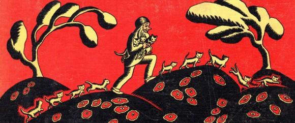 アメリカで今も愛され続けているアメリカ最古の絵本『100まんびきのねこ』