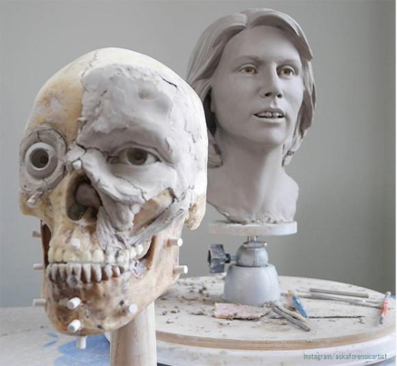 元FBIの法医学者が頭蓋骨から顔を復元する過程を公開