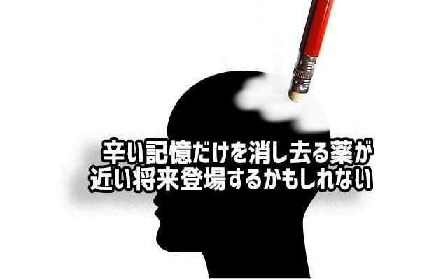 辛い記憶を取り除く「忘れ薬」の開発に一歩前進。タンパク質の関与を断ち切ることで有効性がアップ