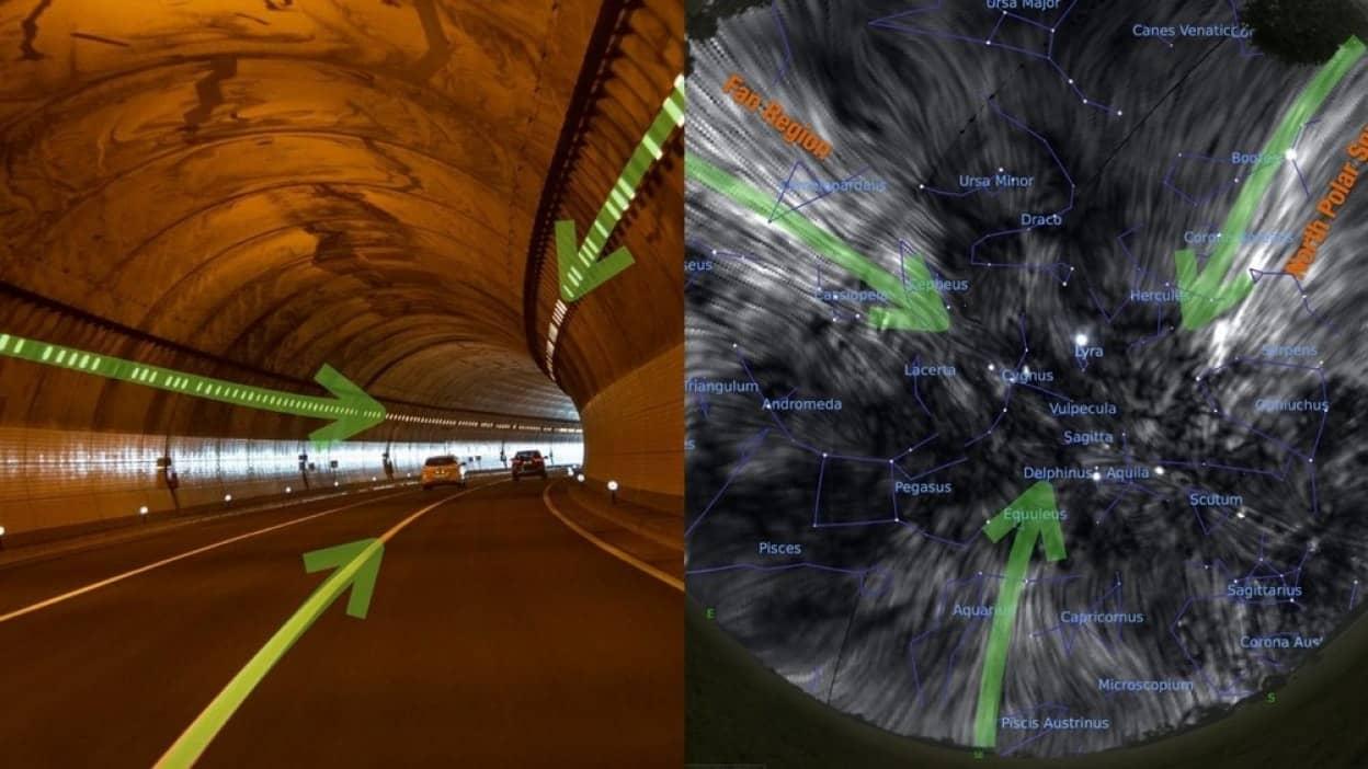 地球は巨大な宇宙のトンネルに囲まれているとする新たな研究