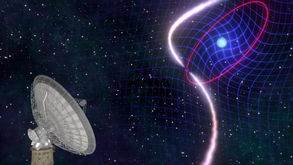 時空を引きずりながら自転する白色矮星が観測される(CSIRO)