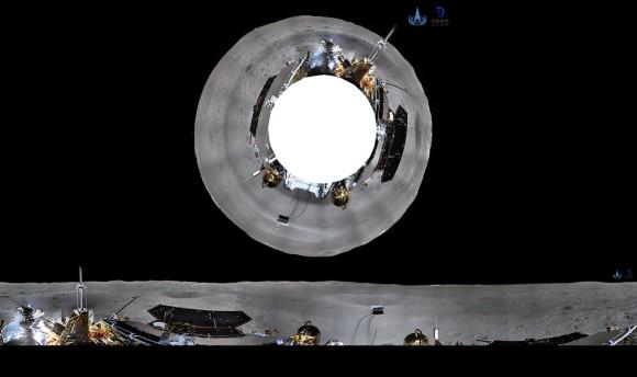 これが月の裏側だ!中国の月面探査機「嫦娥4号」が送ってきた最新版、月の裏側の映像
