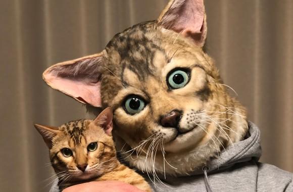 ペットと同じ顔になれる!?リアルなフェイスマスクがオーダーメイドできるぞ!
