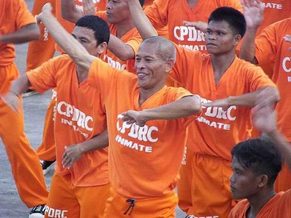 Philippine Prison Prisoners Dance Dancing 11