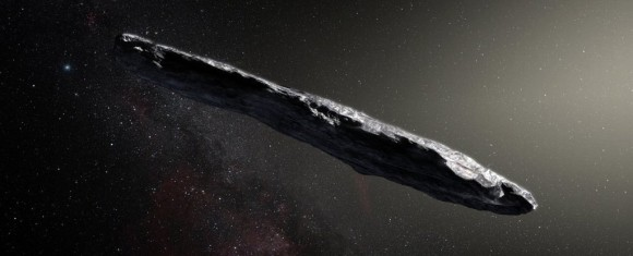 なんと葉巻型!史上初となる恒星間小惑星「オウムアムア(Oumuamua)」を観測。太陽系外から飛来