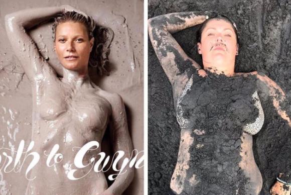 実はこっちがリアルかもよ?セレブのインスタ写真をユーモア入りで再現するコメディエンヌ
