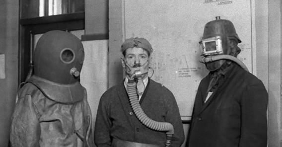 画像で巡る、ガスマスクの歴史