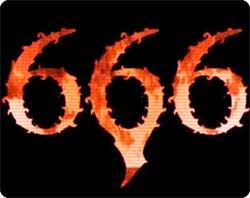 「666」は悪魔の数字ではなかった!!実際には「616」