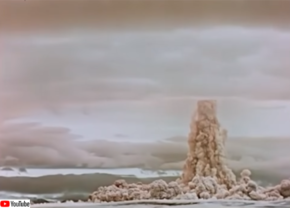 ロシアが世界最大の核爆発映像を公開