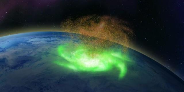 史上初、北極上空で宇宙台風が観測される