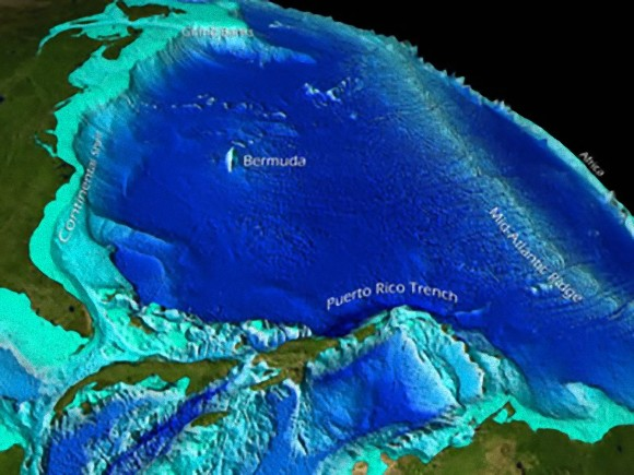 たった10%しか知られていなかった海底の残り90%の情報が衛星画像で明らかに(米研究) : カラパイア Pacific Ocean Underwater Map
