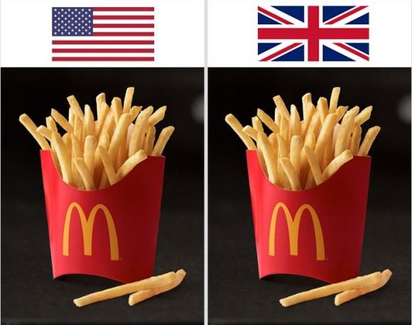 同じ食品なのにイギリスとアメリカでこんなに違う!7つの食品成分表比較