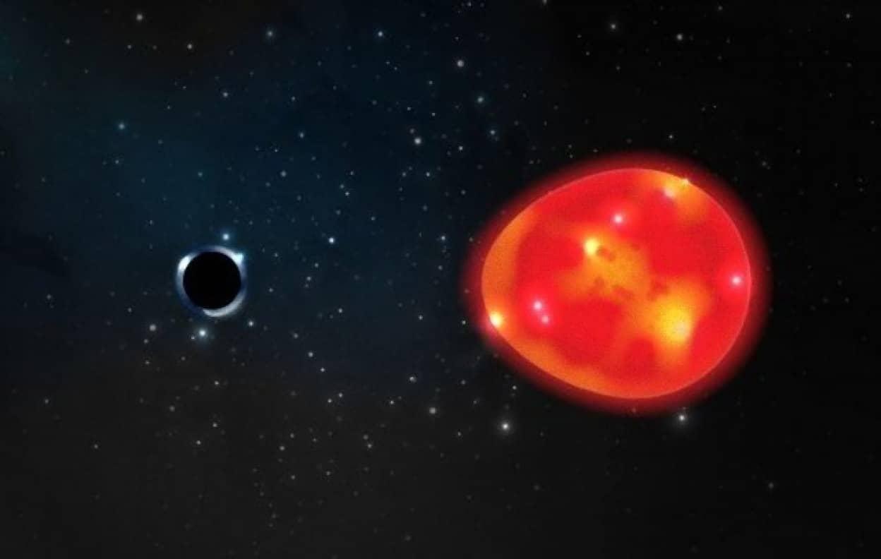 地球に最も近いブラックホールが発見される。その大きさは最小