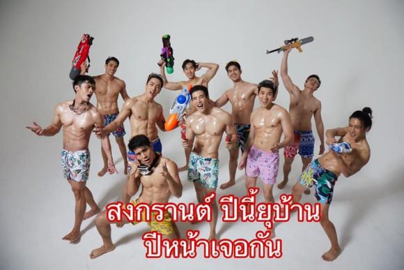 コロナで売り上げが激減したレストラン、マッチョ男性を配達員にすることで売り上げアップに成功(タイ)