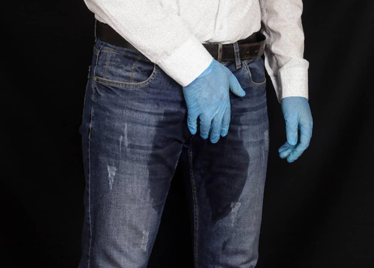 最初から失禁しているように見えるジーンズが販売中