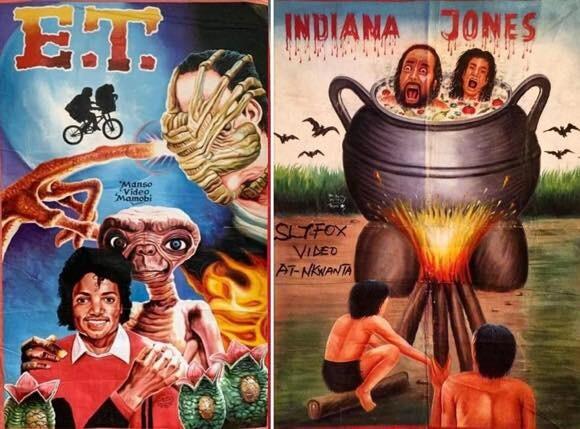 ガーナの映画ポスターが別の意味でコレクションしたくなる件
