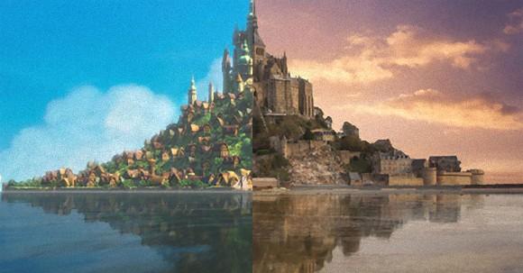 ファンタジー世界はリアルに実在する。ディズニー映画の舞台となった18の現実の場所