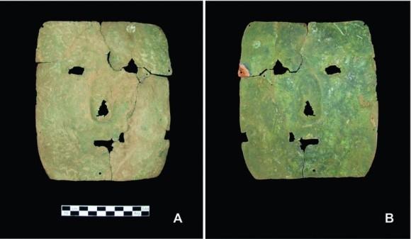約3000年前。南アメリカで最も古い人工金属加工の仮面が発見される。