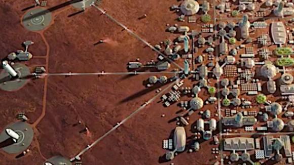 2050年までに火星都市建設は可能。イーロン・マスクがツイッターでコメント