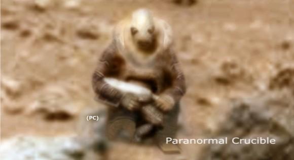 またすごいの出た!火星で武器を持った古代火星人兵士みたいなのが発見される
