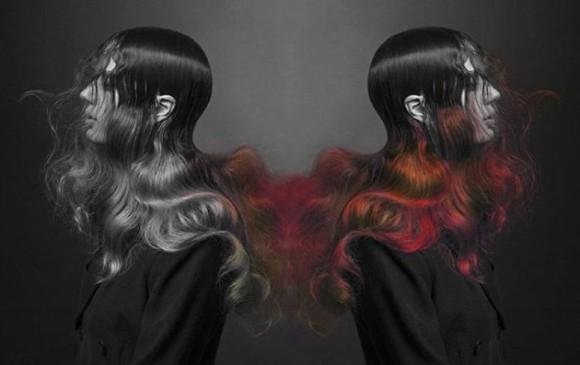斬新な髪の話をしよう。世界初、温度や湿度で髪の色が変化するヘアカラー「ファイヤー」が登場(イギリス)
