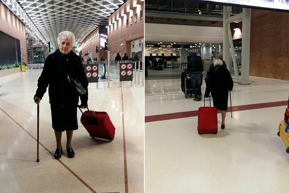 93歳のおばあちゃんの愛情は国境を越える。飛行機でケニアへボランティアに出かけたイタリアのおばあちゃん