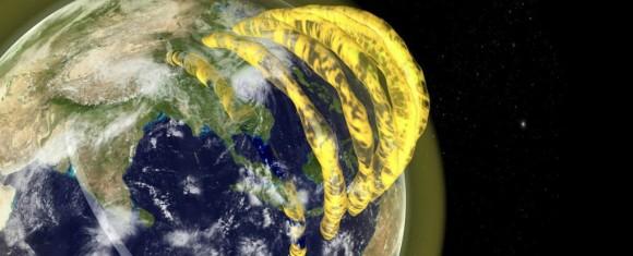 地球上空に存在する巨大なプラズマチューブ