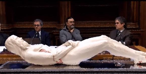 イエス・キリストの姿を3Dプリンターで復元。トリノの聖骸布から導き出された身長178センチ、等身大のキリスト像