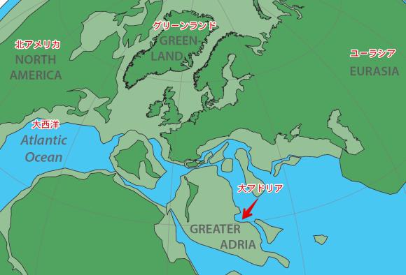 地中海に沈む失われた大陸「大アドリア大陸」が発見される(オランダ研究)