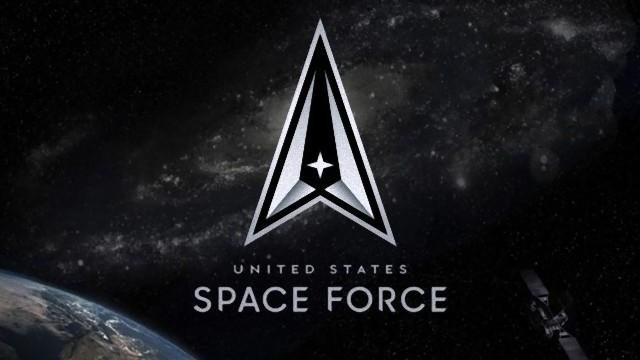 アメリカ宇宙軍の公式ロゴマーク