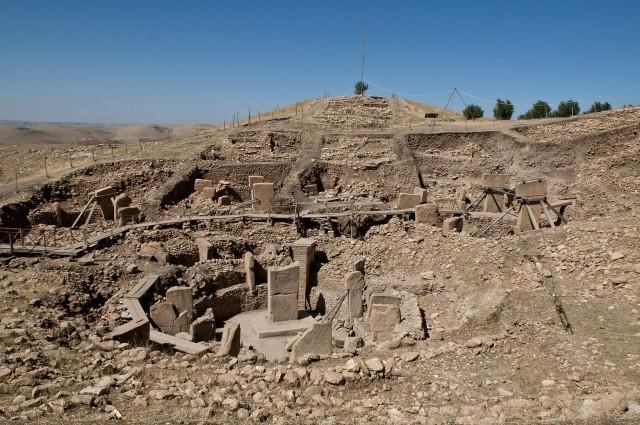 ギョベクリ・テペの遺跡