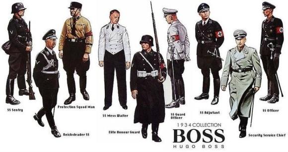 ナチスがファッションに影響を与えた10の事例