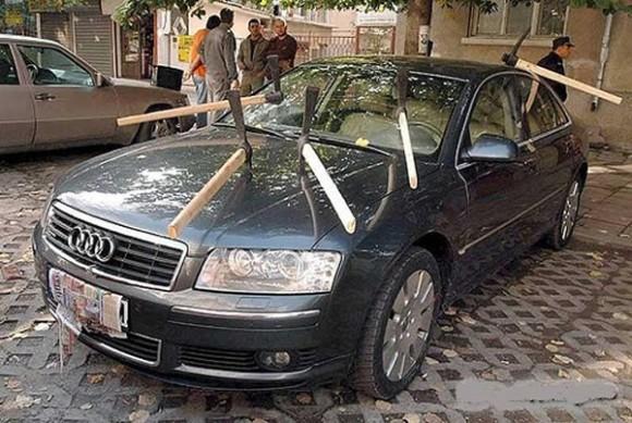 どうしても許せなかった。ムシャクシャが加速した。駐車違反車に対してひどい仕打ち総集編