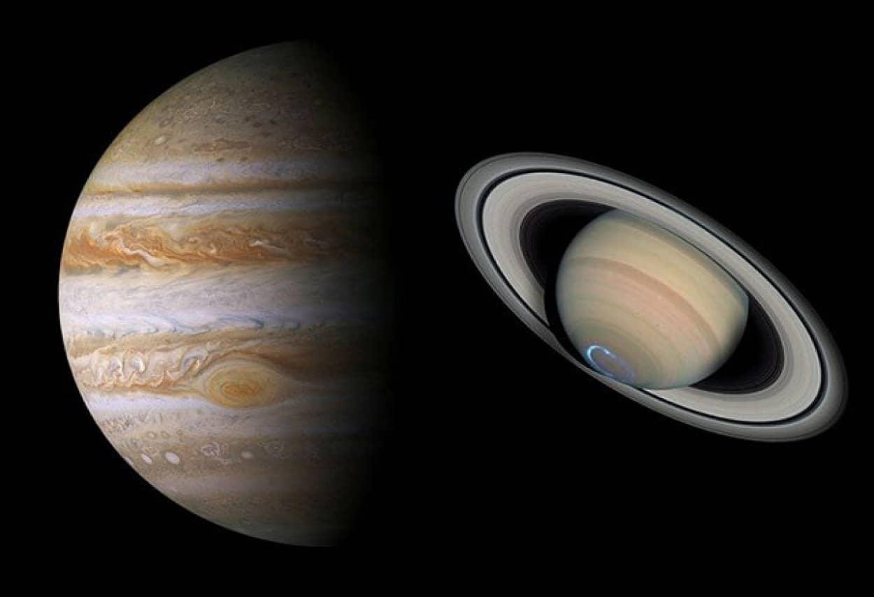 木星と土星が大接近